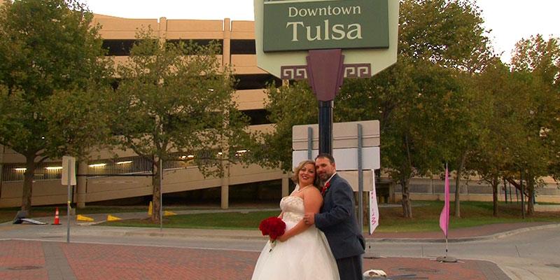 Kasey and Brian – Aloft Hotel Downtown Tulsa