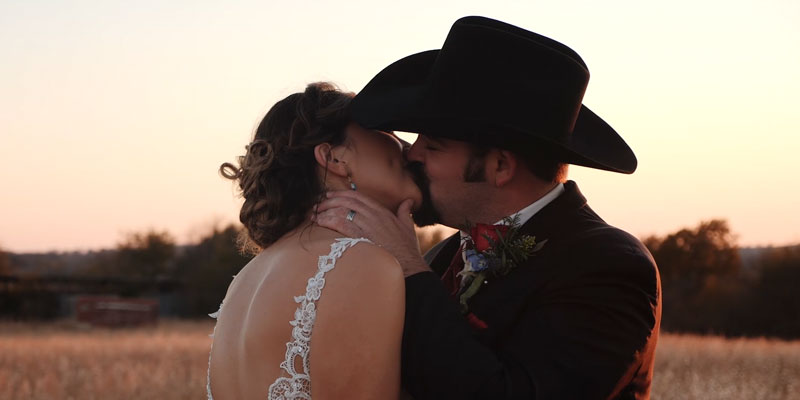 Courtney and Ryan – Moore's Flying M Ranch