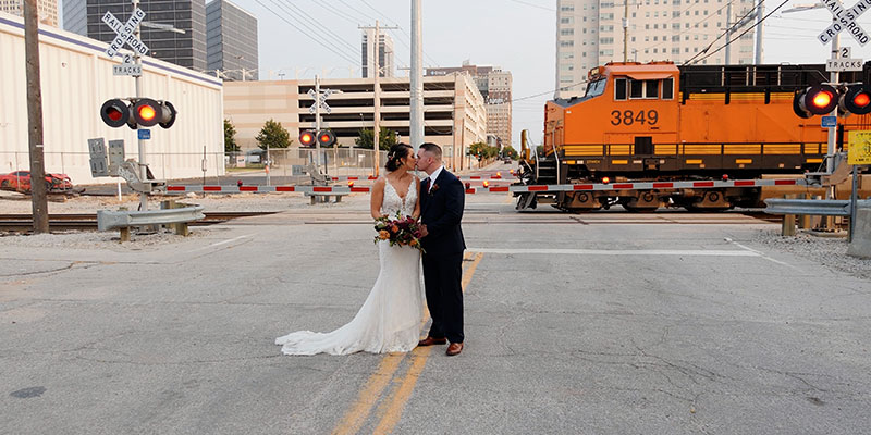 Jessica and Taylor – Downtown Tulsa